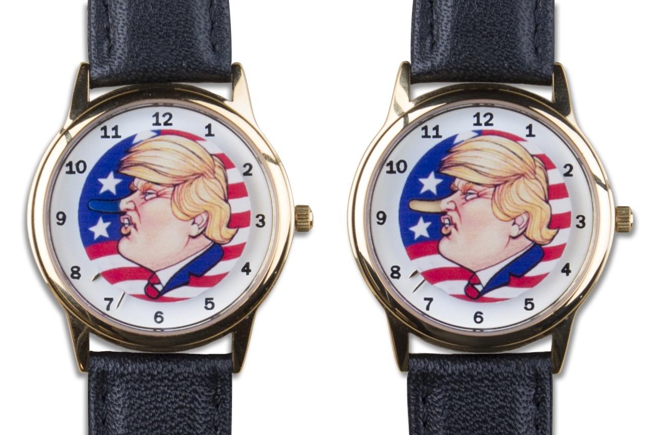 Trump Growing Nose Watch