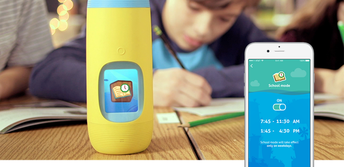 The Gululu Interactive Bottle Makes Staying Hydrated Fun for Kids