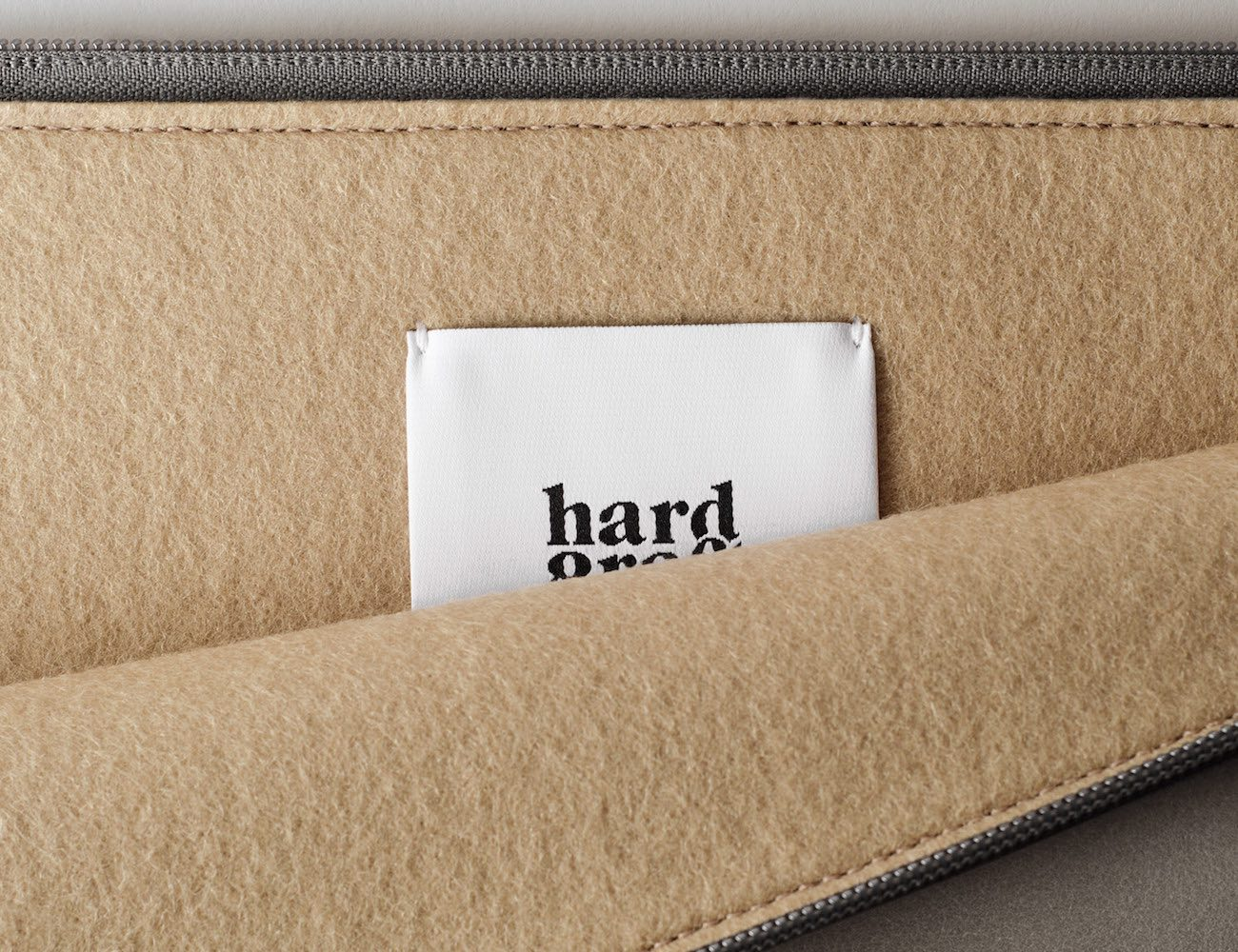 50/50 Wool Sleeve by Hard Graft