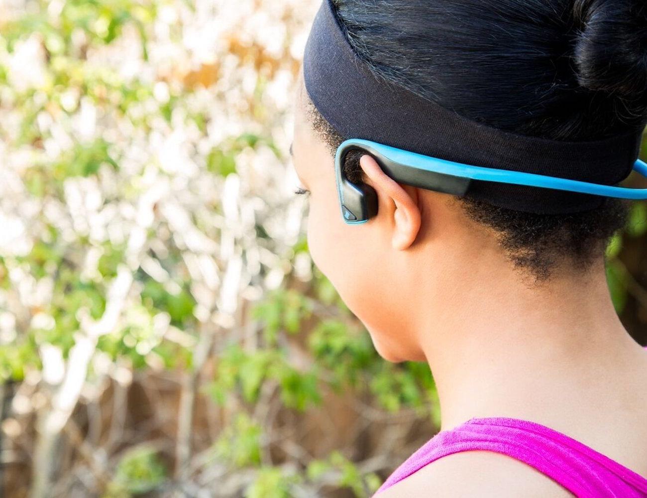 AfterShokz TREKZ Open-Ear Bluetooth Headphones