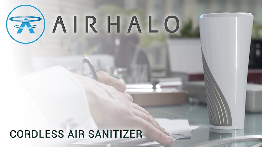 Air Halo Cordless Air Sanitizer