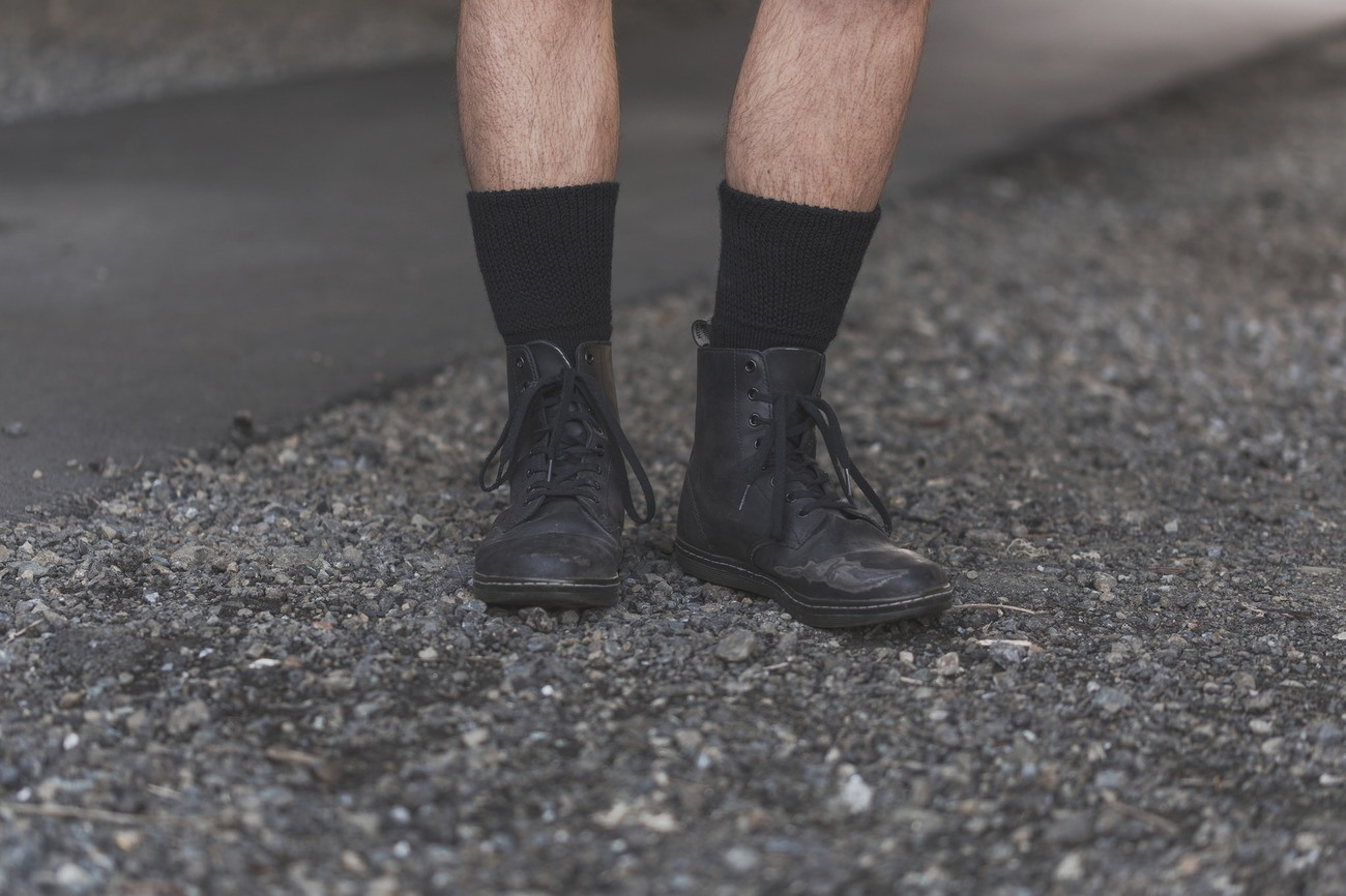 All Black Socks For Hardworking Professionals & World Travelers