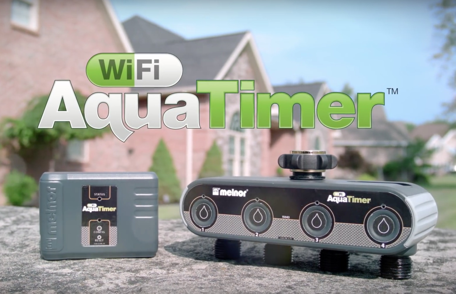 AquaTimer Wi-Fi Connected Garden Hose System