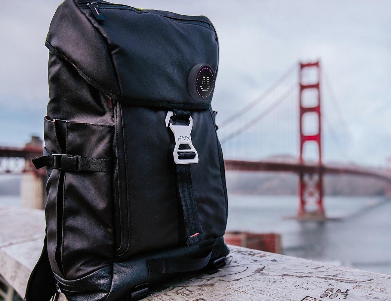BackPAIX LED Emoji Backpack