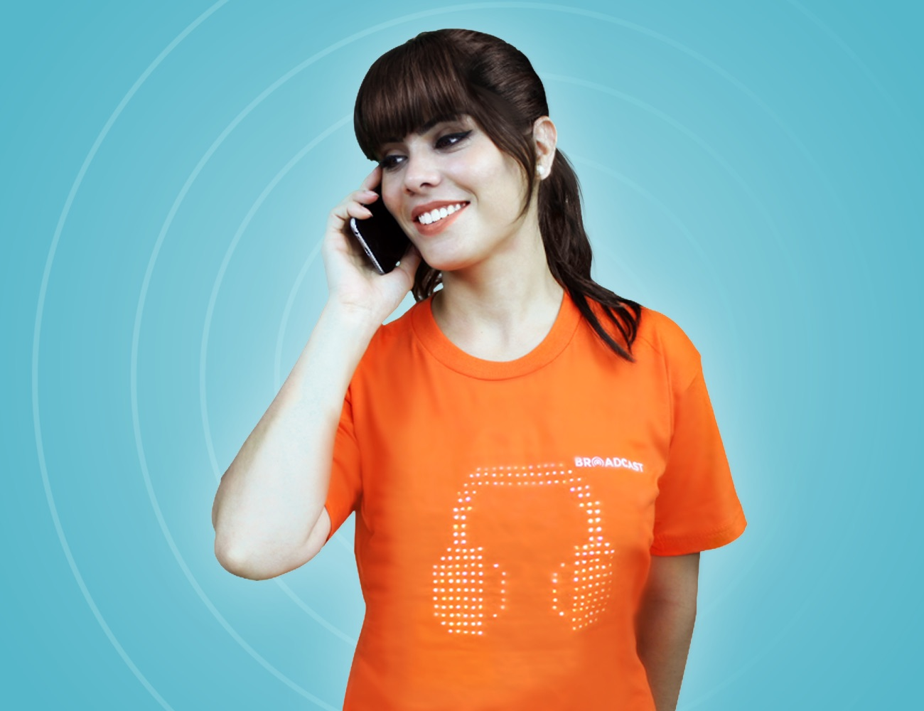 Broadcast – World's First Touch Enabled T-shirt