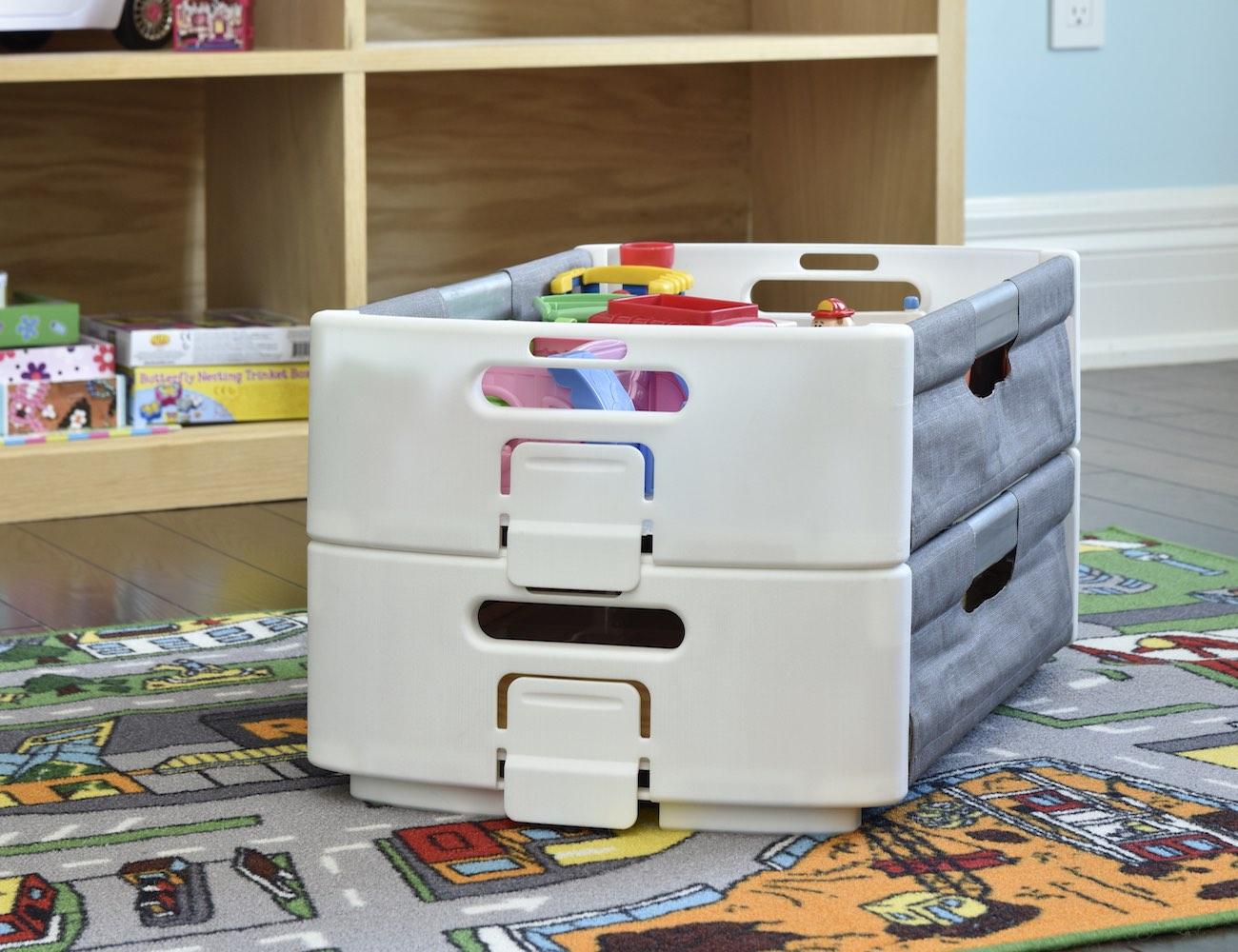 CLOZE Basket – Reconfigurable Laundry Basket