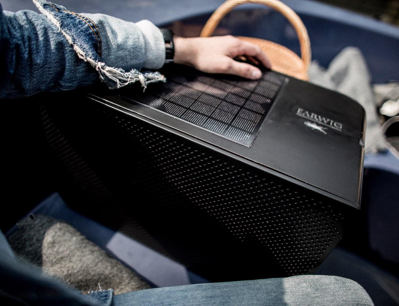 Earwig – The World's Most Powerful Solar Speaker