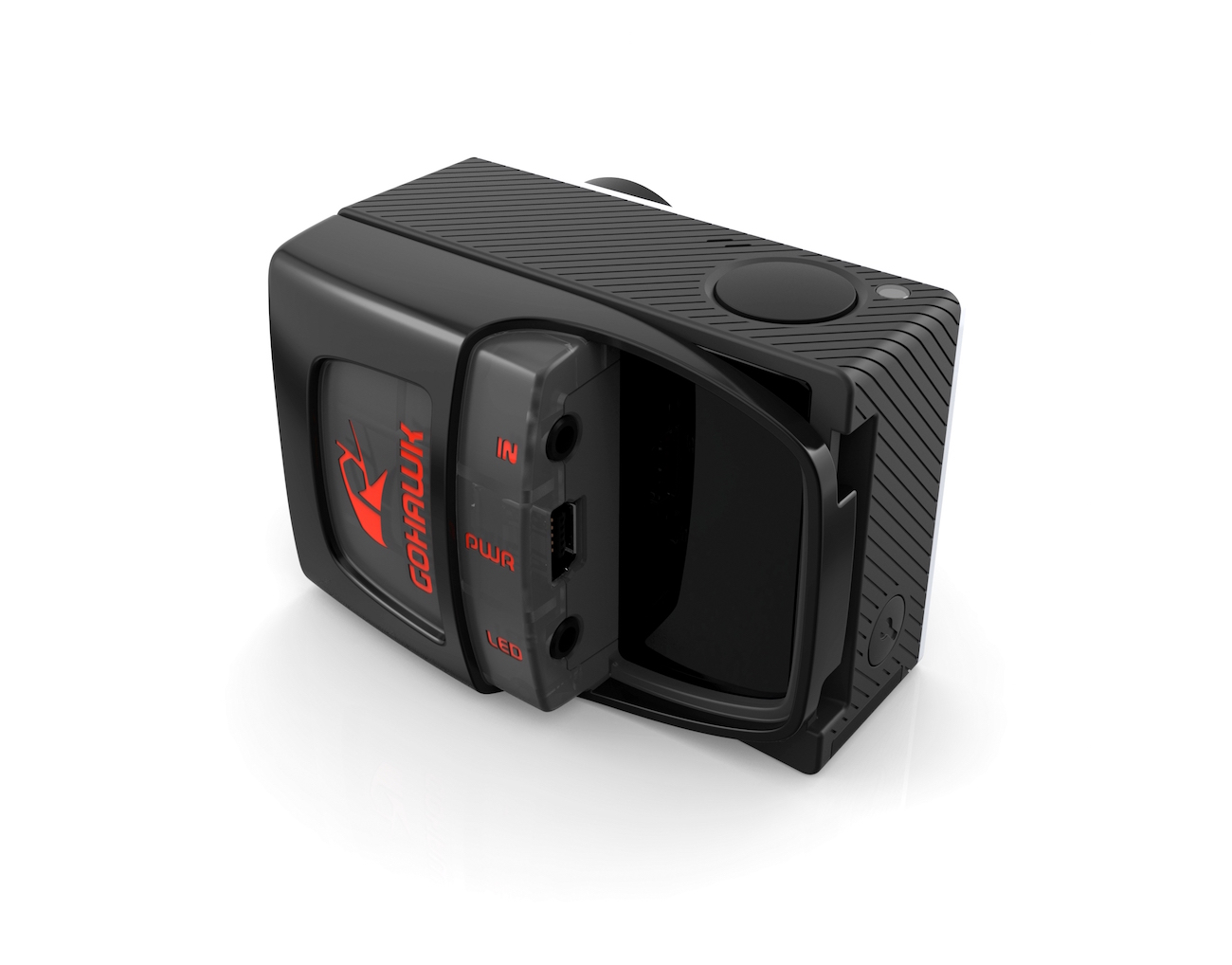 GoHawk – Hands-Free GoPro Shooting System with Remote LED
