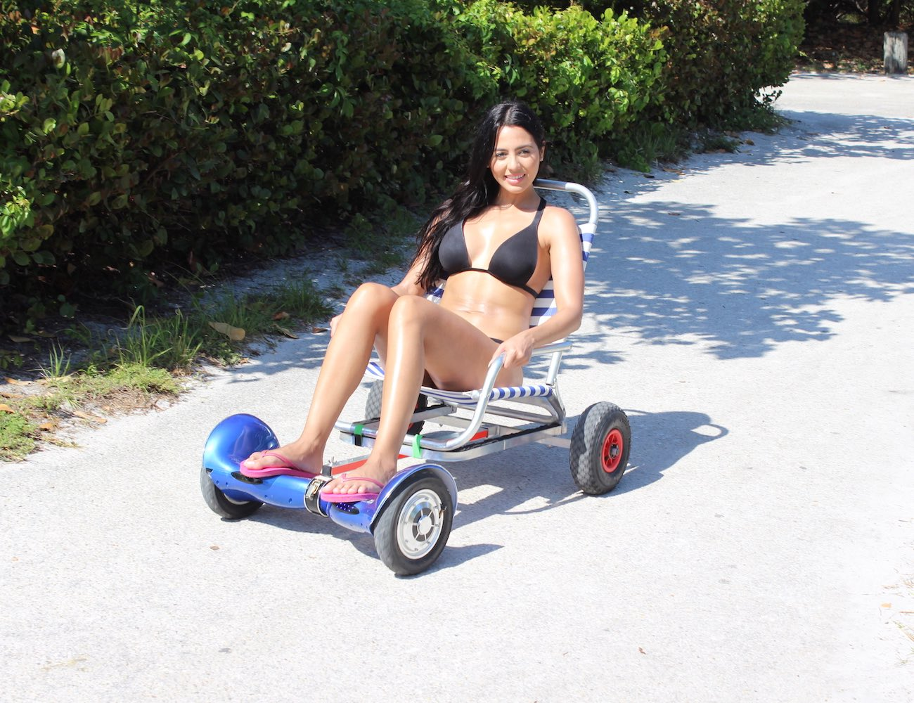 HoverSeat – New Sitting Attachment for Hoverboards
