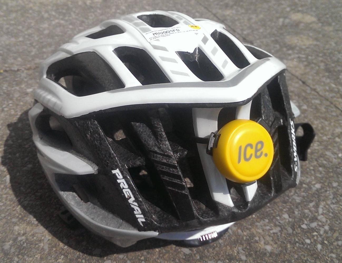 ICEdot Bike Helmet Crash Sensor