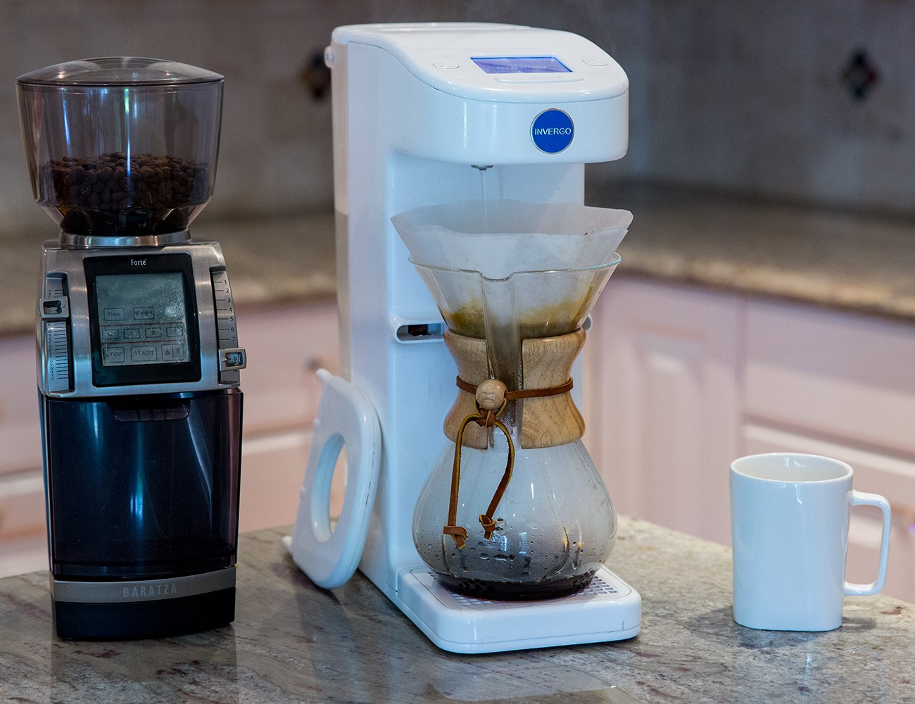 Invergo – The First Automated Pour Over Coffee System