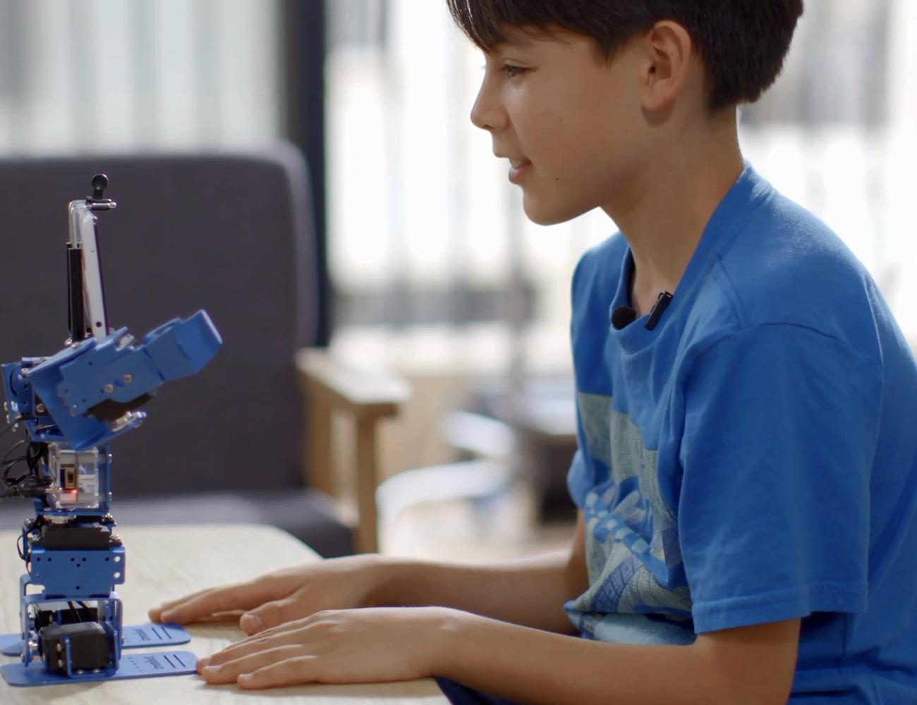 IronBot – DIY Robot Learning Kit for Kids