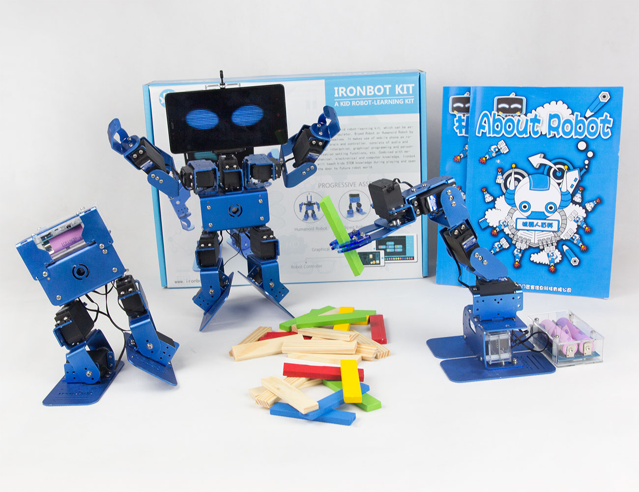 IronBot – DIY Robot Learning Kit for Kids