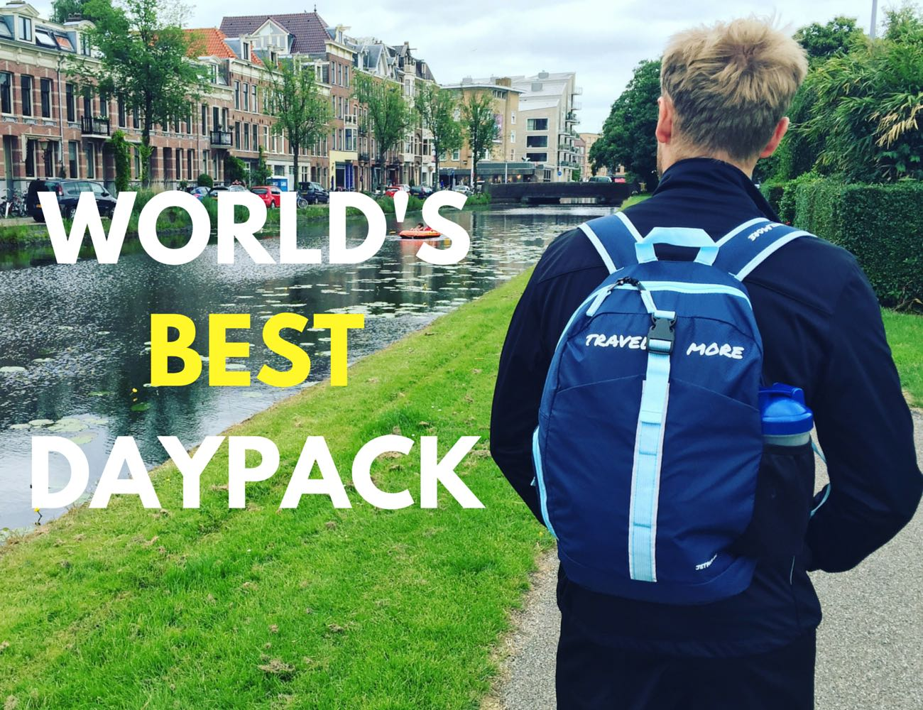 TravelMore Jetpack 20L – The World's Best Travel Daypack