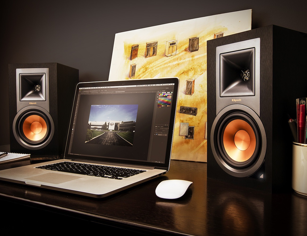 Klipsch+R-15PM+Powered+Monitor+Speakers