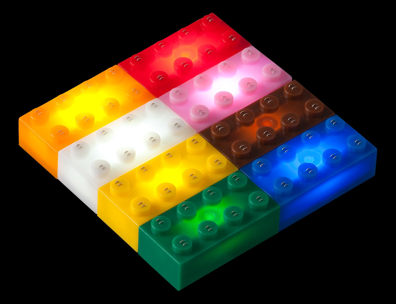 Light Stax Lego Meets Led 187 Gadget Flow