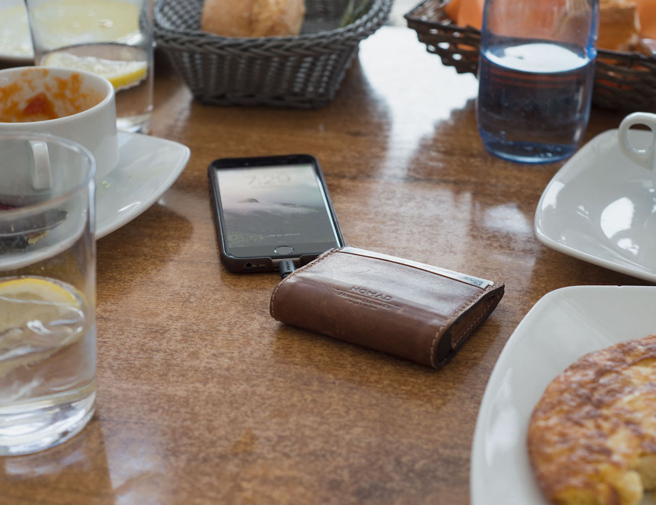 Leather Wallet for iPhone by Nomad