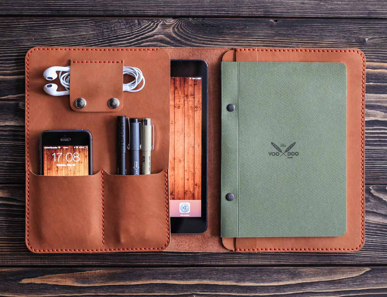 Leather iPad Mini Folio by inSide
