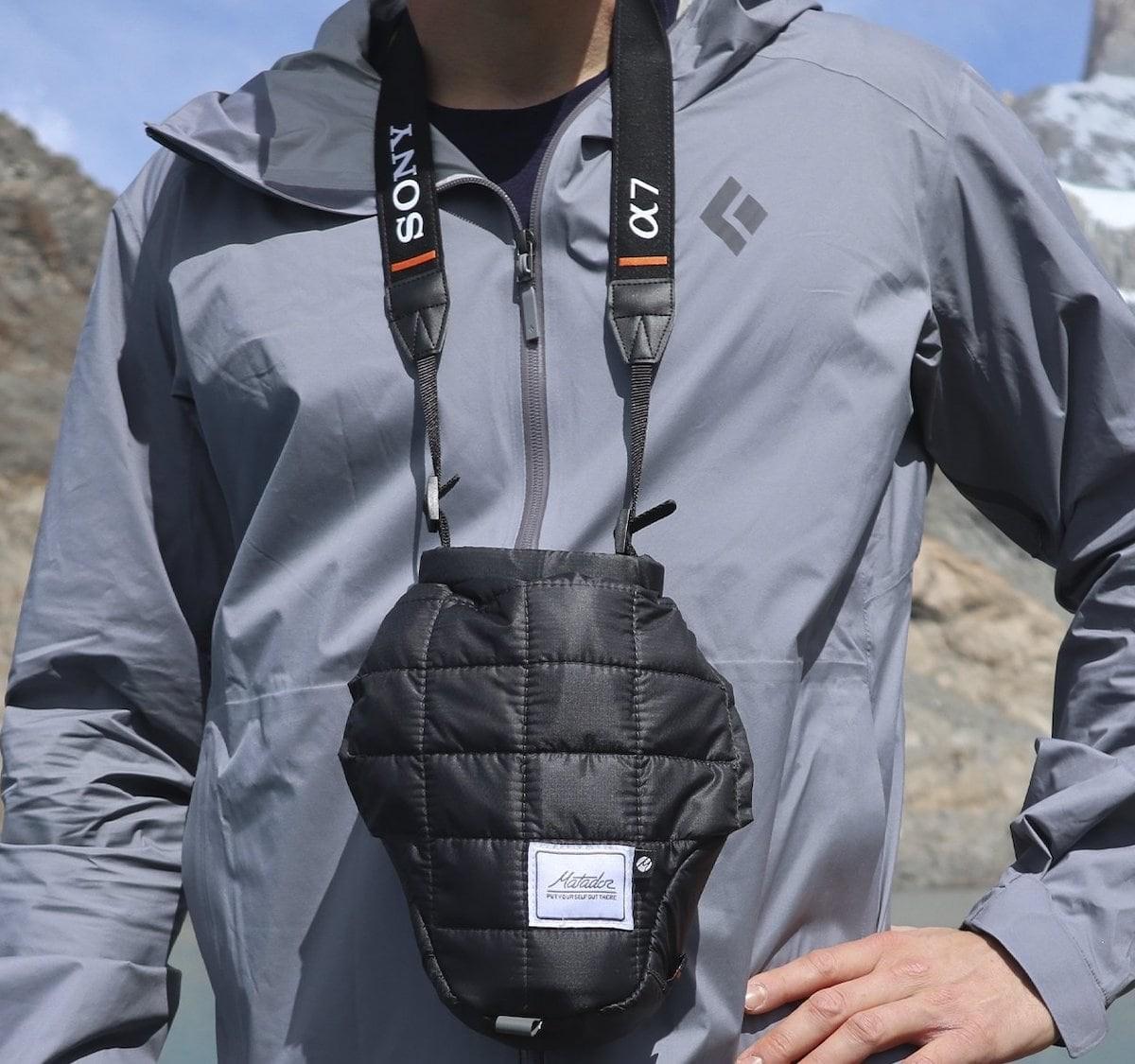 Matador Camera Base Layer Technical Shell keeps your camera nice and warm