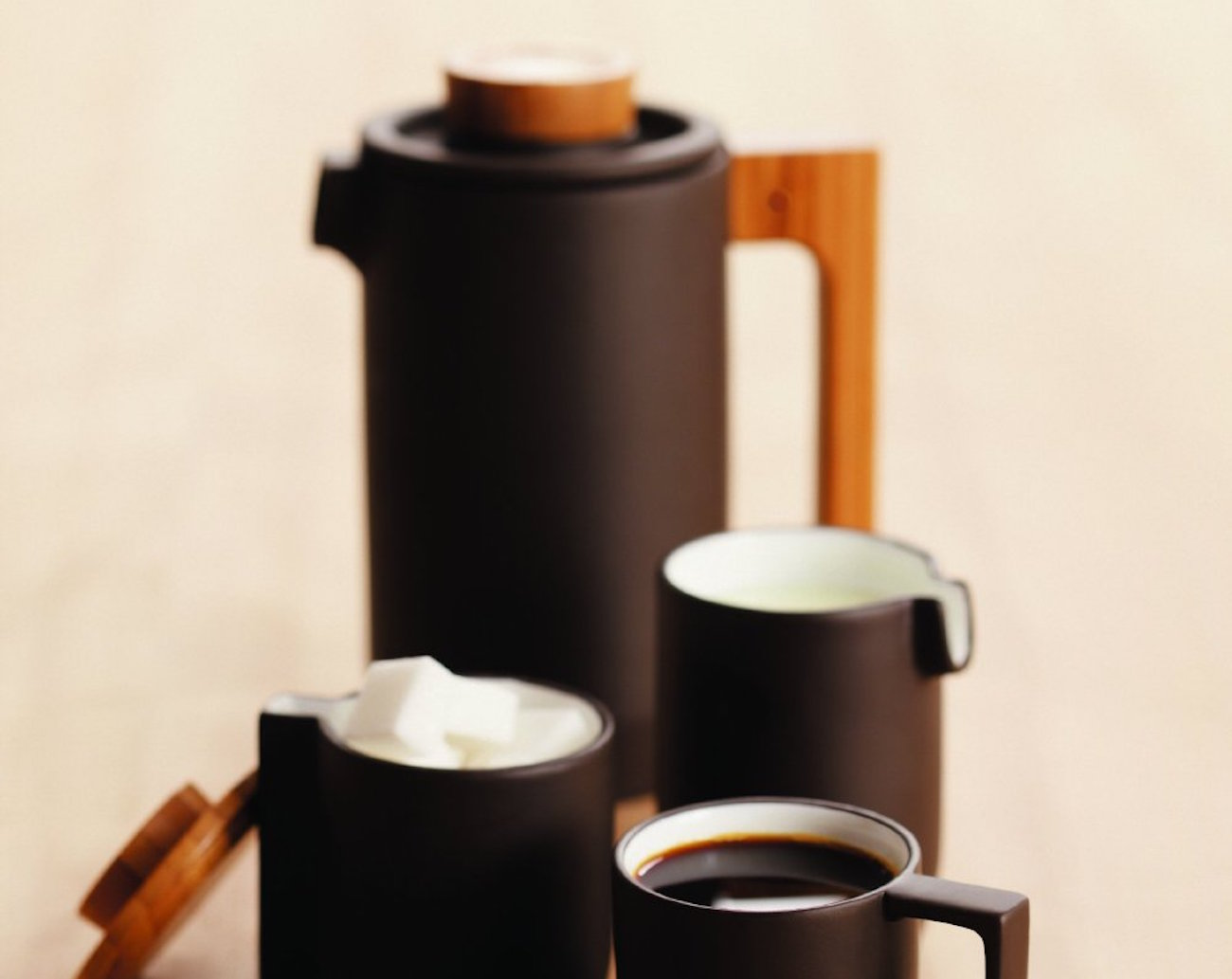 Purple Clay Coffee Set by JIA Inc