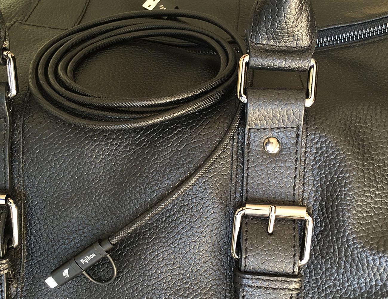 Python – Kevlar Dual Charging Cable