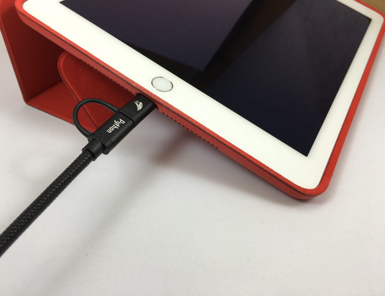 Python – Kevlar Dual Charging Cable