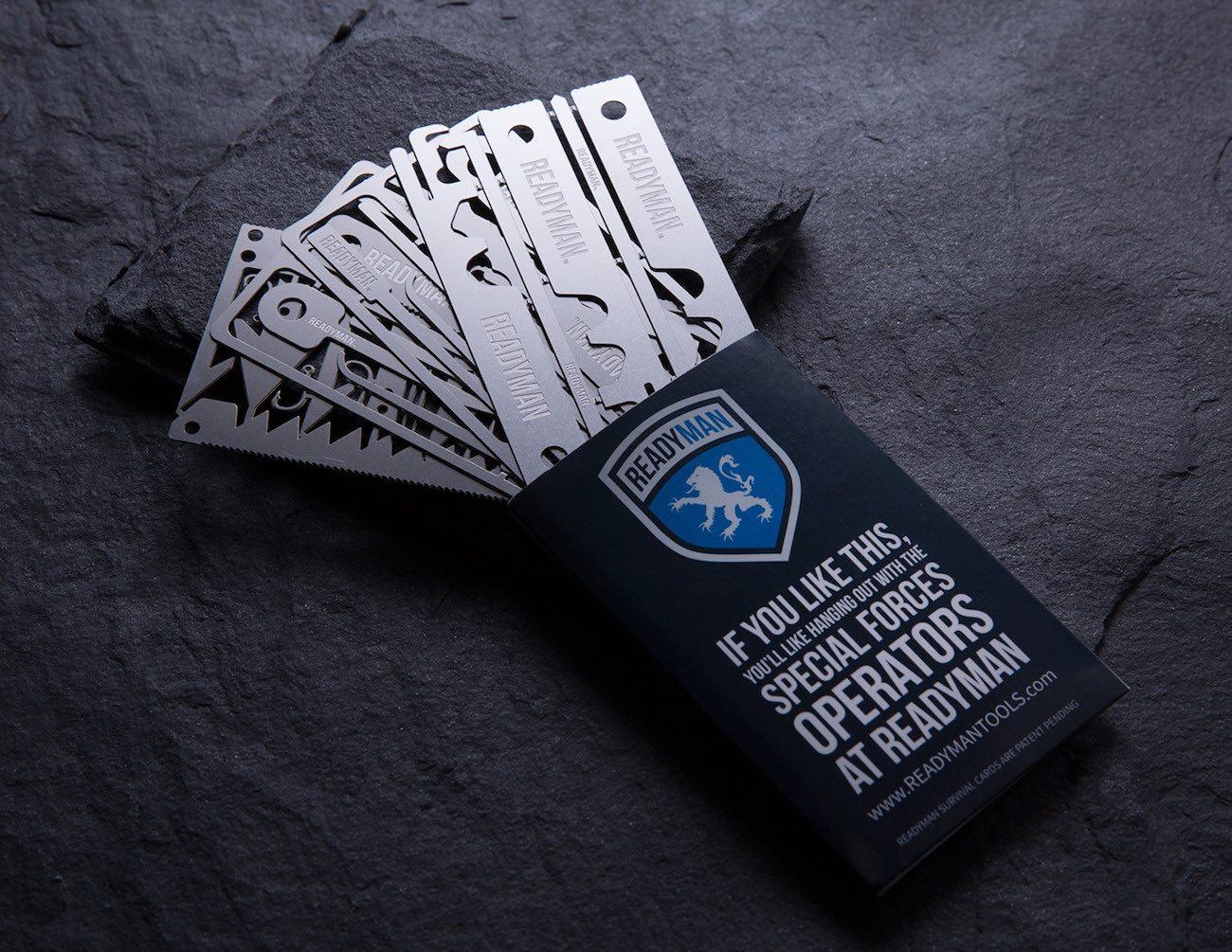 Readyman Survival Cards