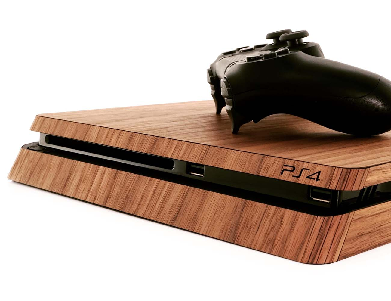 Real Wood Cover for PS4 by Toast