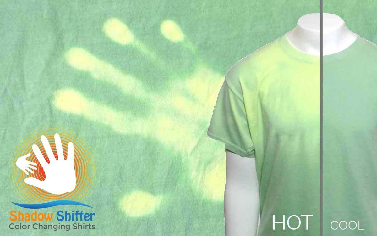 Color Changing Shirts >> Shadow Shifter Changes Colors With Your Environment Gadget Flow