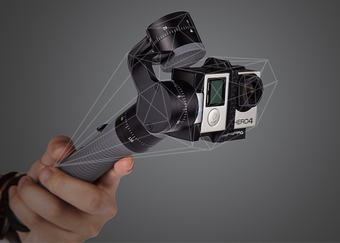 Snoppa Go – World's First GoPro Stabilizer with Integrated Control