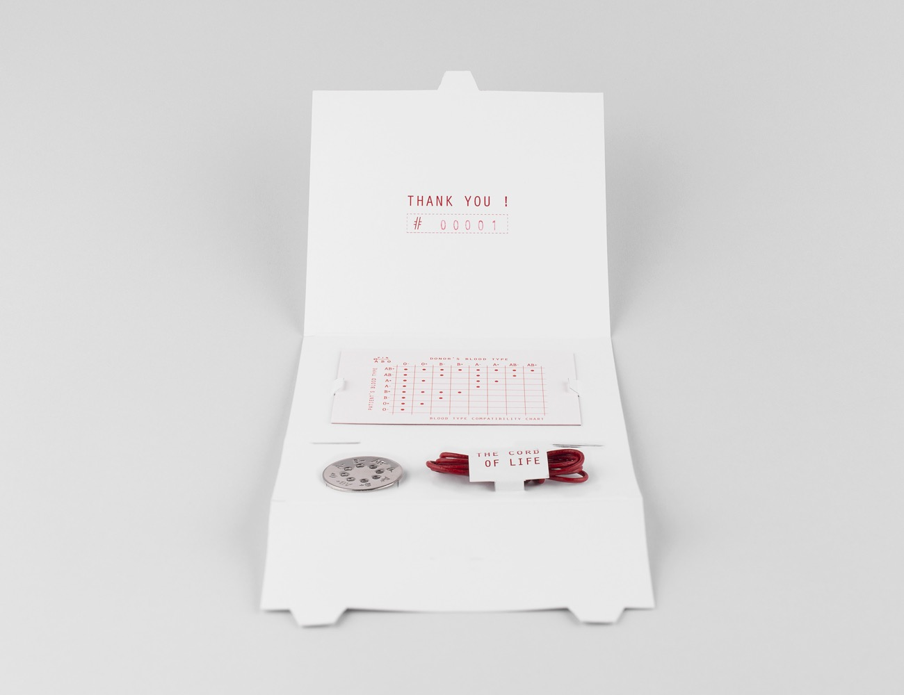 TAG ABO – Blood Type Necklace