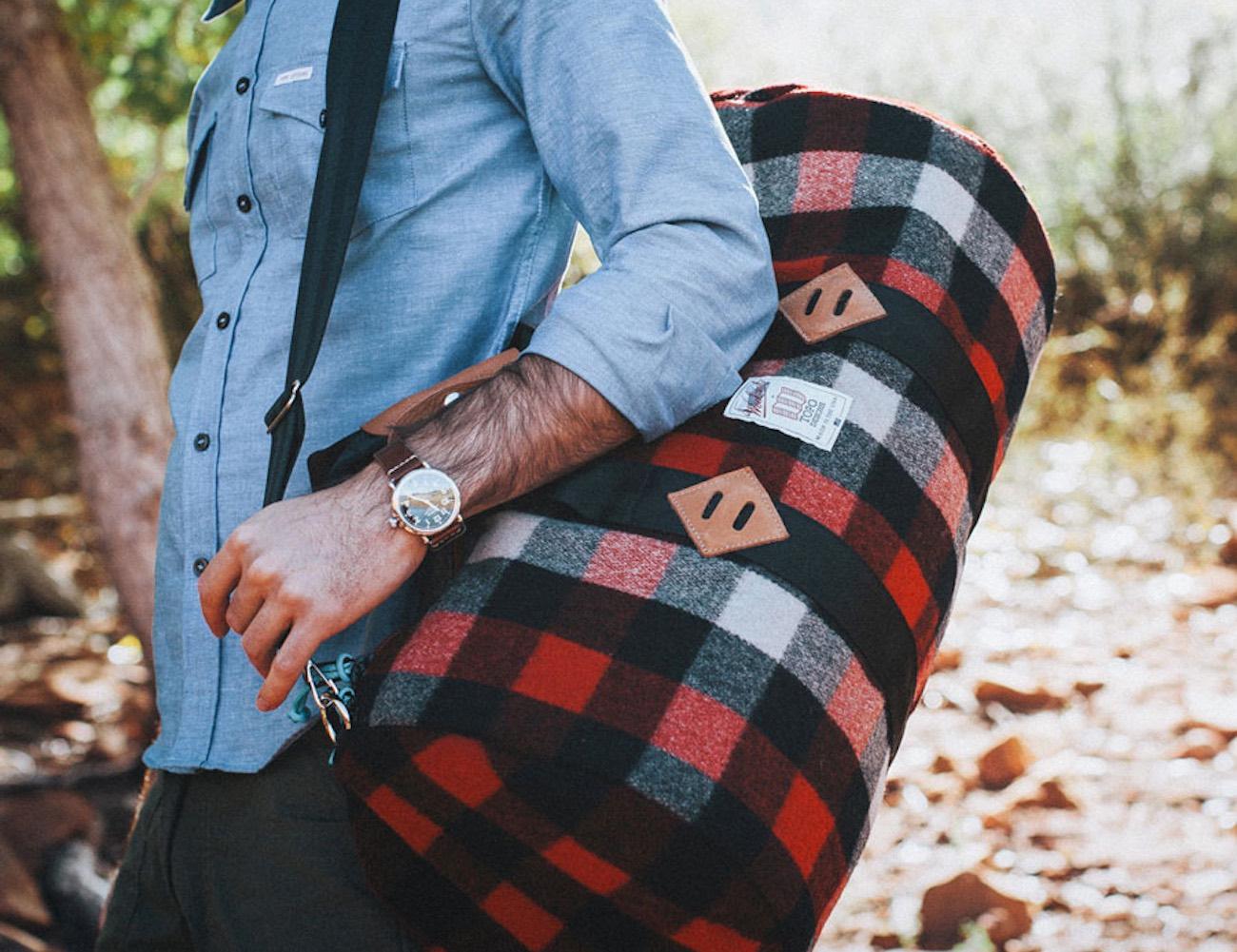 TOPO Designs x Woolrich Duffle Bag