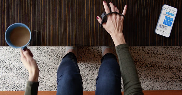 Tap Is a Wearable Keyboard that Can Be Used Anywhere and Everywhere