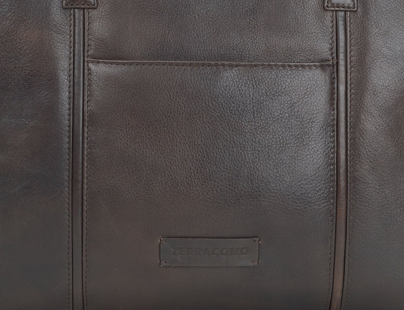 Terracomo Gerard Slim Leather Briefcase