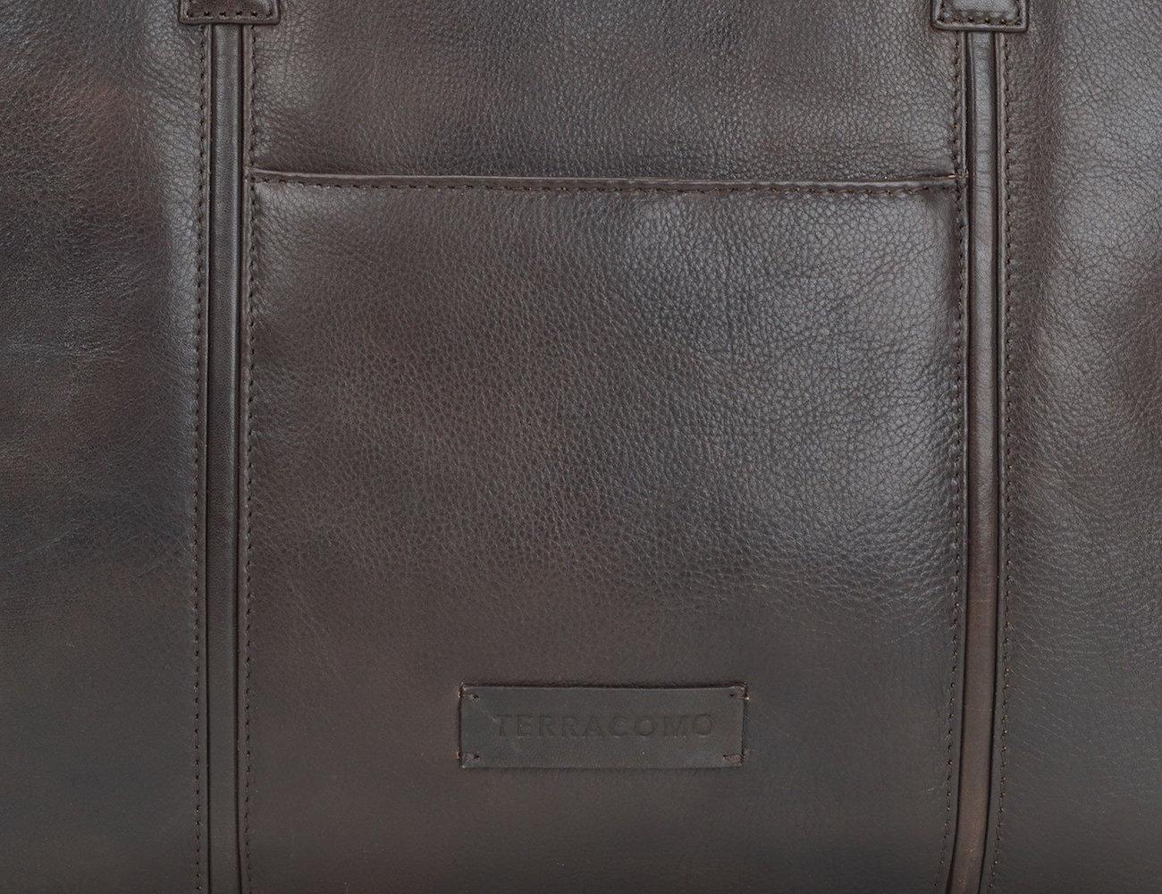 Terracomo Gerard Slim Leather Briefcase