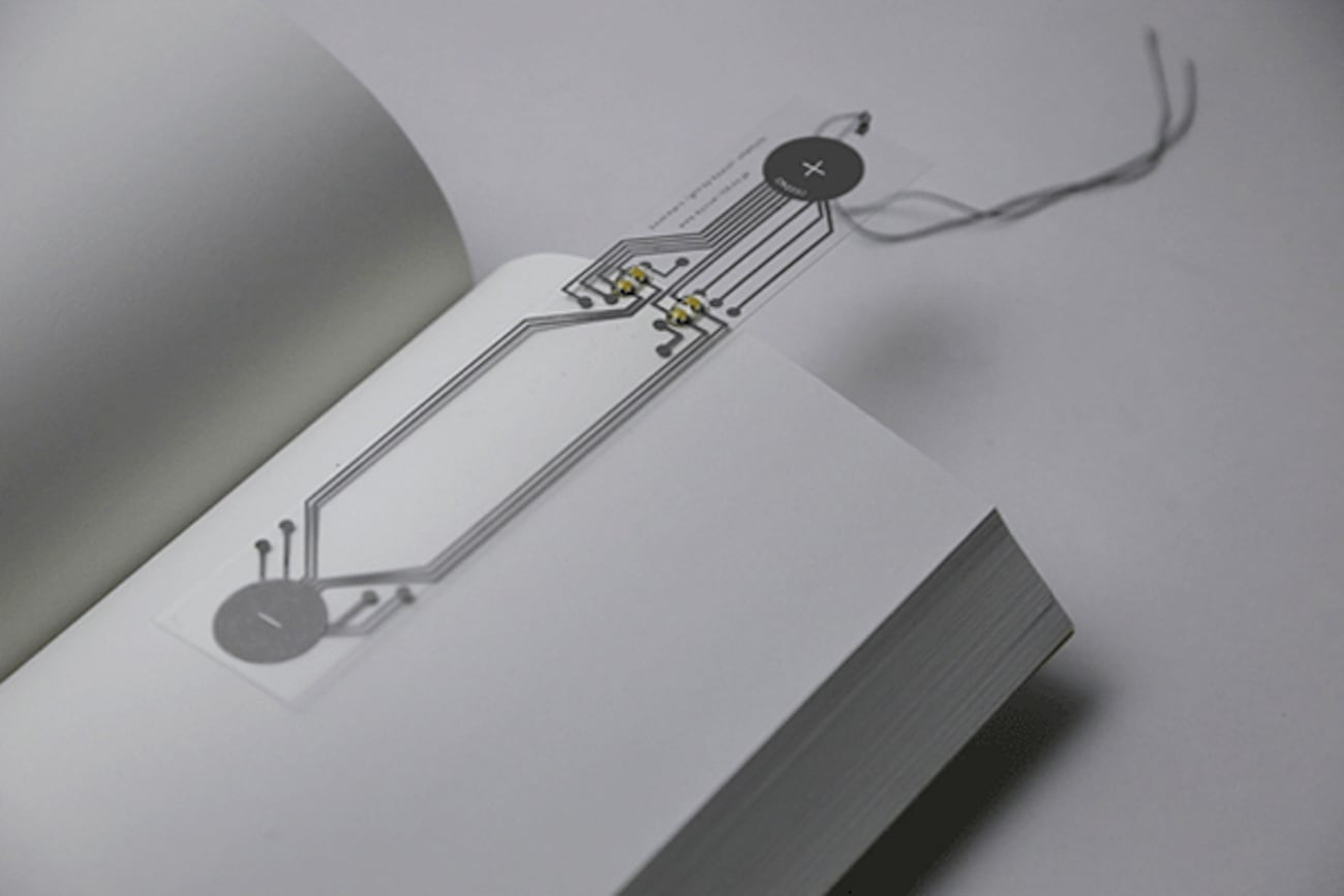 The Illuminated Bookmark by Kyouei Design