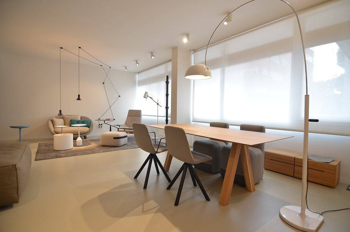 The Trestle Table by Viccarbe