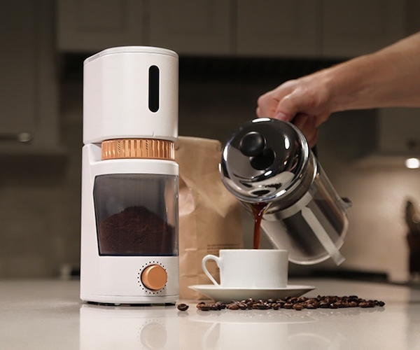 Voltaire Portable Coffee Grinder by GIR