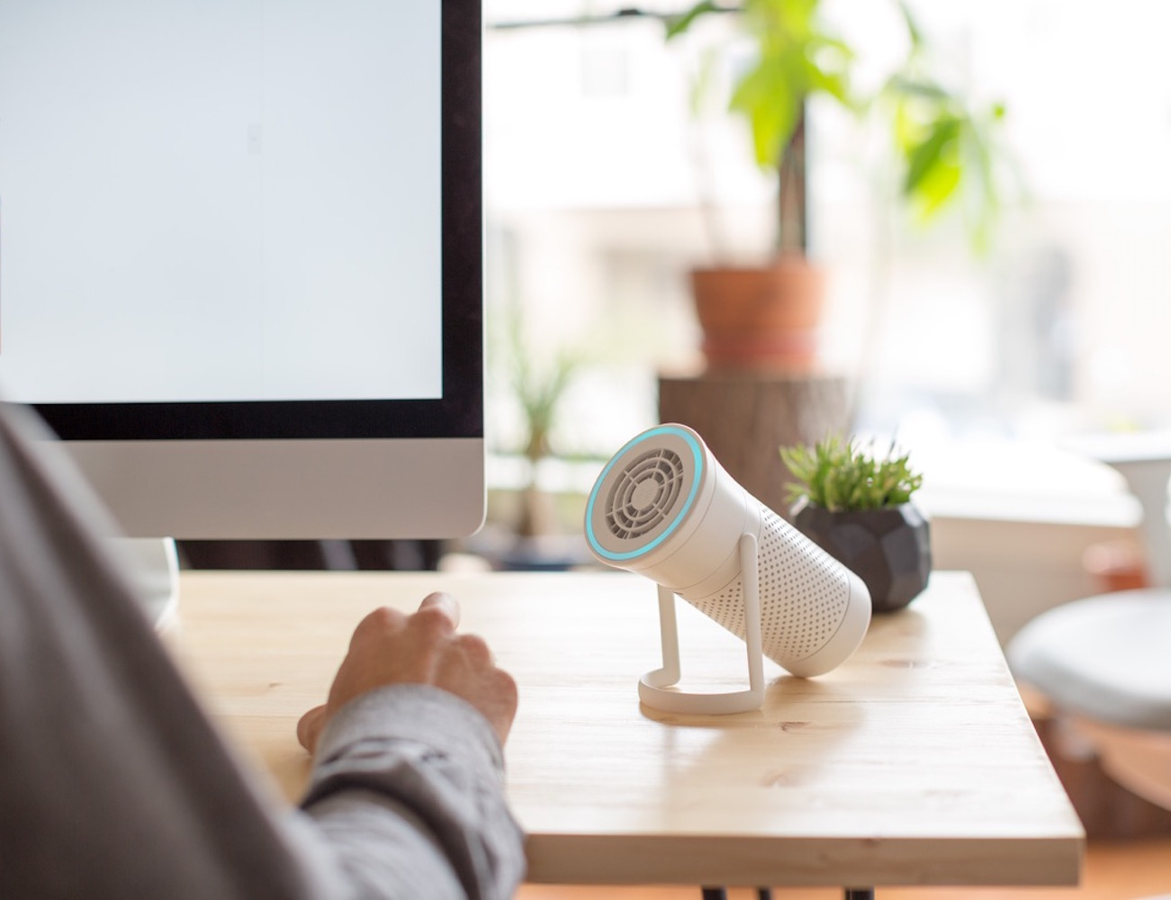 Wynd – The Smartest Air Purifier For Your Personal Space