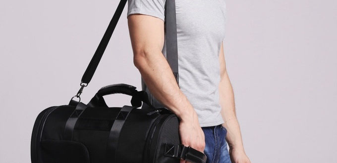 Air Out Your Gym Clothes with the Breether Duffle Bag