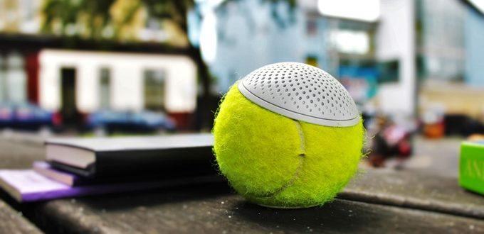 The hearO Speaker Uses Championship Tennis Balls to Liven Up Memorabilia