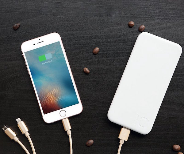 3-in-1 Lightning Cable for iPhone by Rock