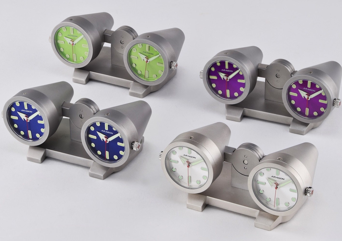 ARAGON Watch – Jet Clock Inspired by a Jet Engine