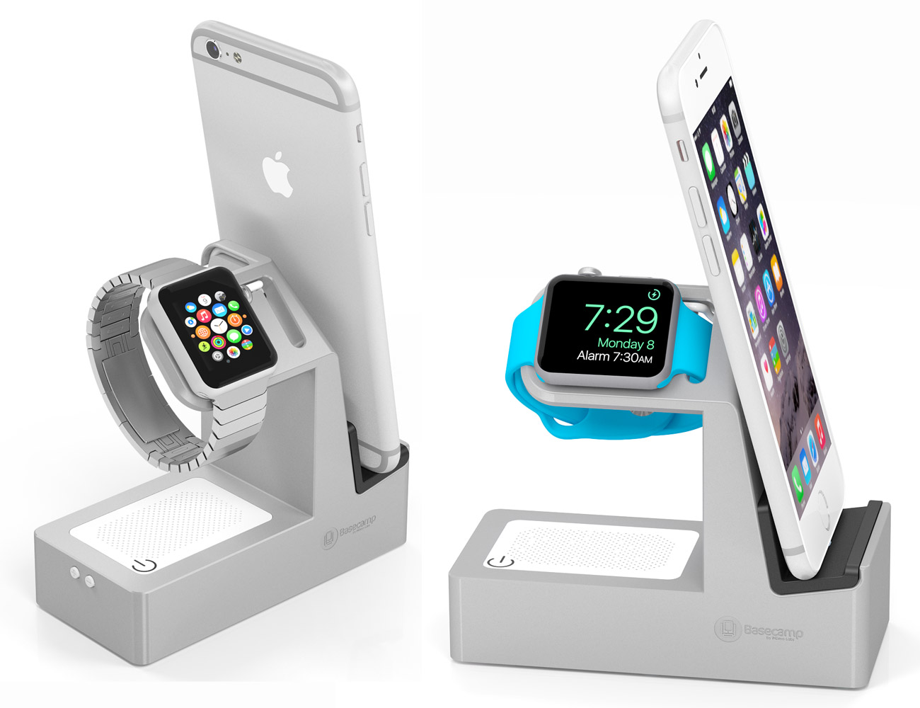Basecamp Deluxe 5-in-1 Apple Watch, iPhone & iPad Charger