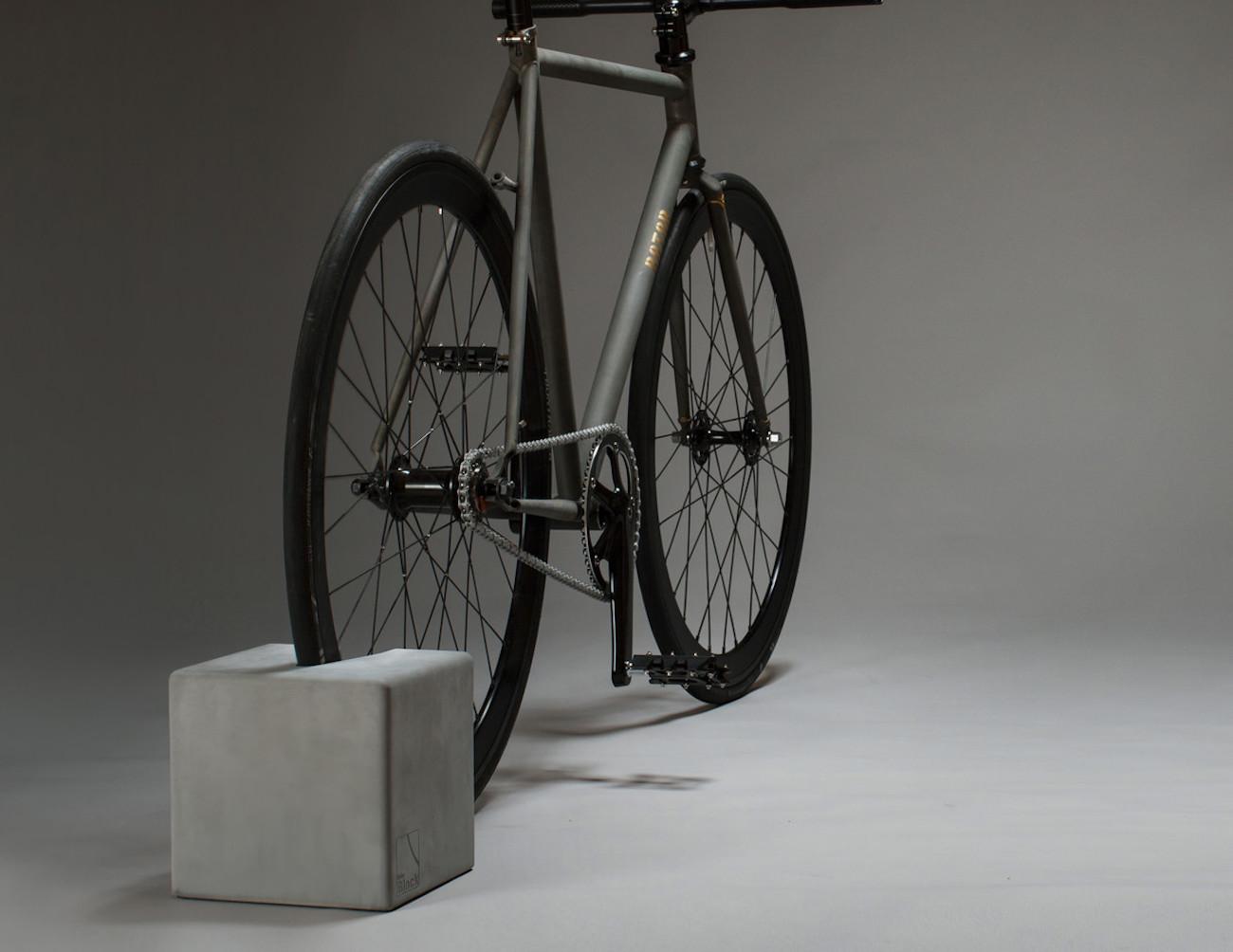 BikeBlock Concrete Bike Stand by urbanature