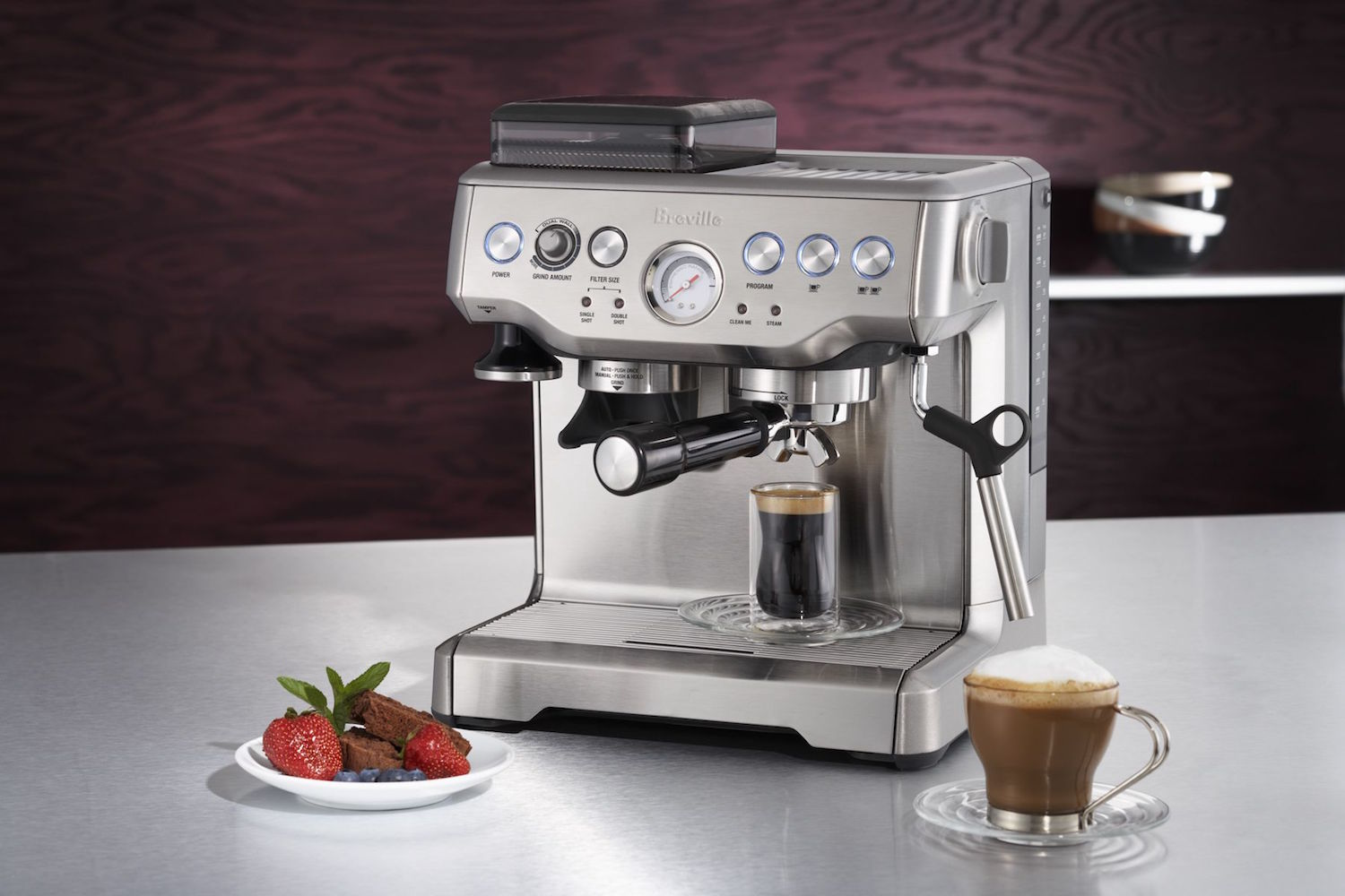 breville barista express espresso machine gadget flow. Black Bedroom Furniture Sets. Home Design Ideas