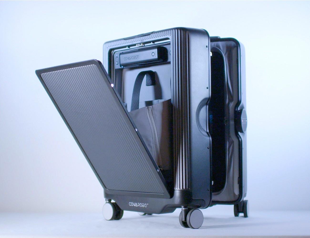 Auto-Follow Suitcase Makes Your Travel Easier – COWAROBOT R1