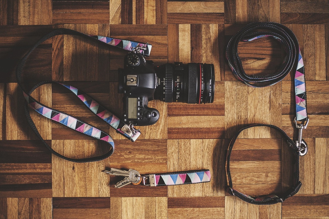 Congo Camera Strap by Tail Wag