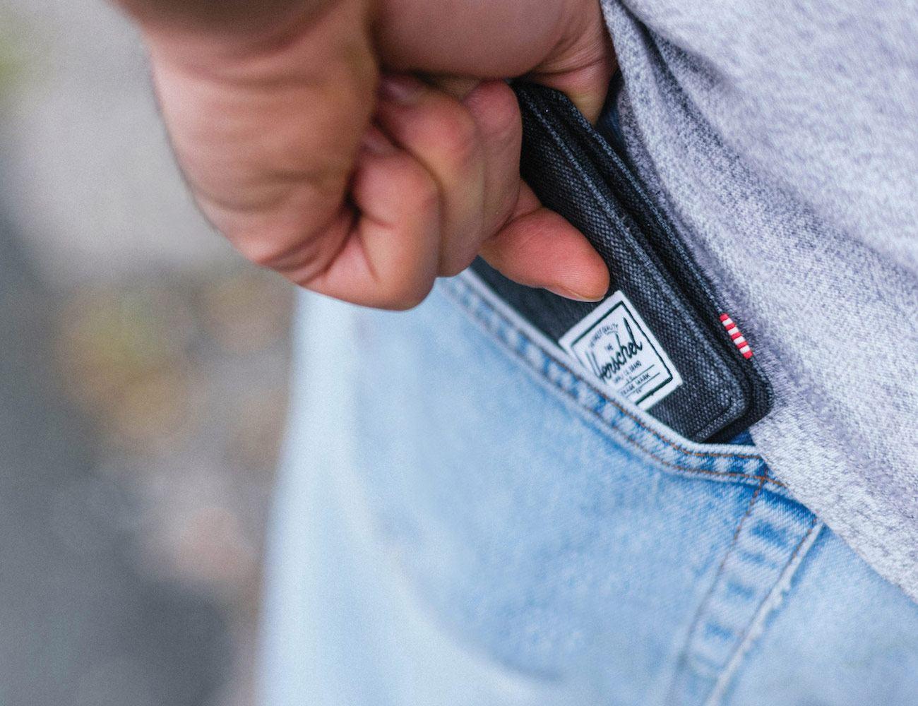 Edward Crosshatch Wallet by Herschel Supply Co