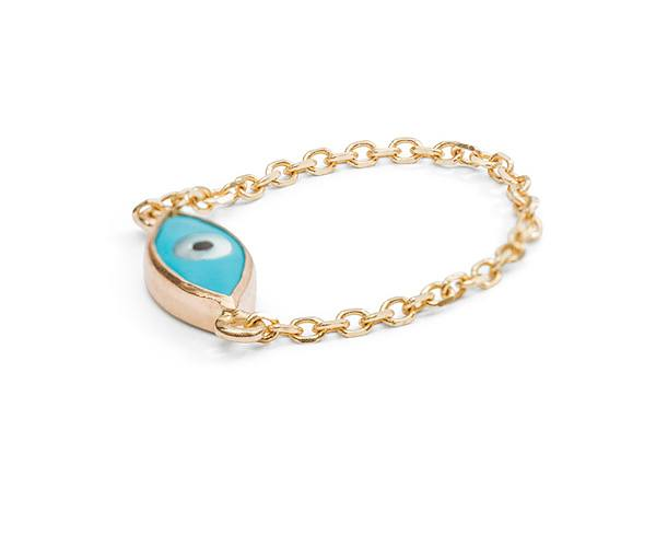 Evil Eye Ring By Mejuri Basics